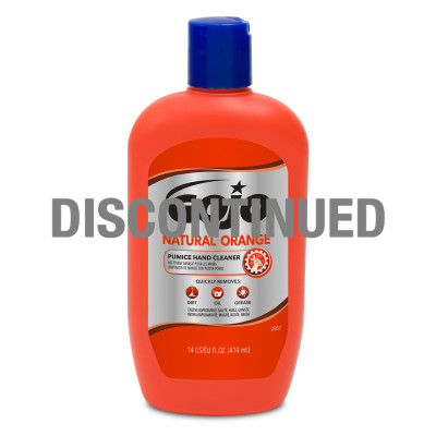 GOJO® NATURAL* ORANGE™ Pumice Hand Cleaner - DISCONTINUED