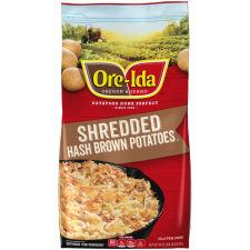 Ore-Ida Shredded Hash Brown Potatoes 30 oz Bag