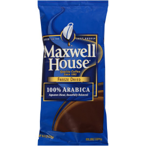 MAXWELL HOUSE 100% Arabica Freeze-Dried Coffee, 8 oz. Bag (Pack of 8) image
