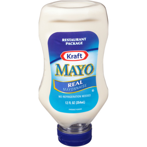 KRAFT Real Mayonnaise, 12 oz. Bottles (Pack of 12)