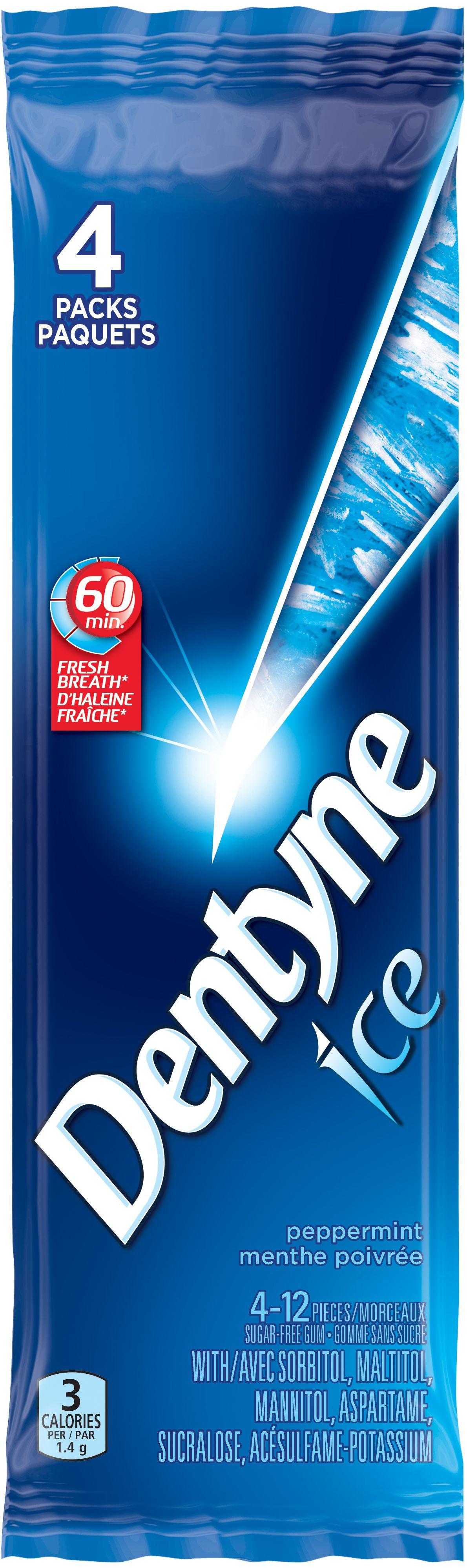 Dentyne Ice Peppermint Gum 48 Count