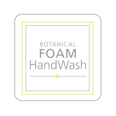 Dispenser Label - Botanical Foam Handwash