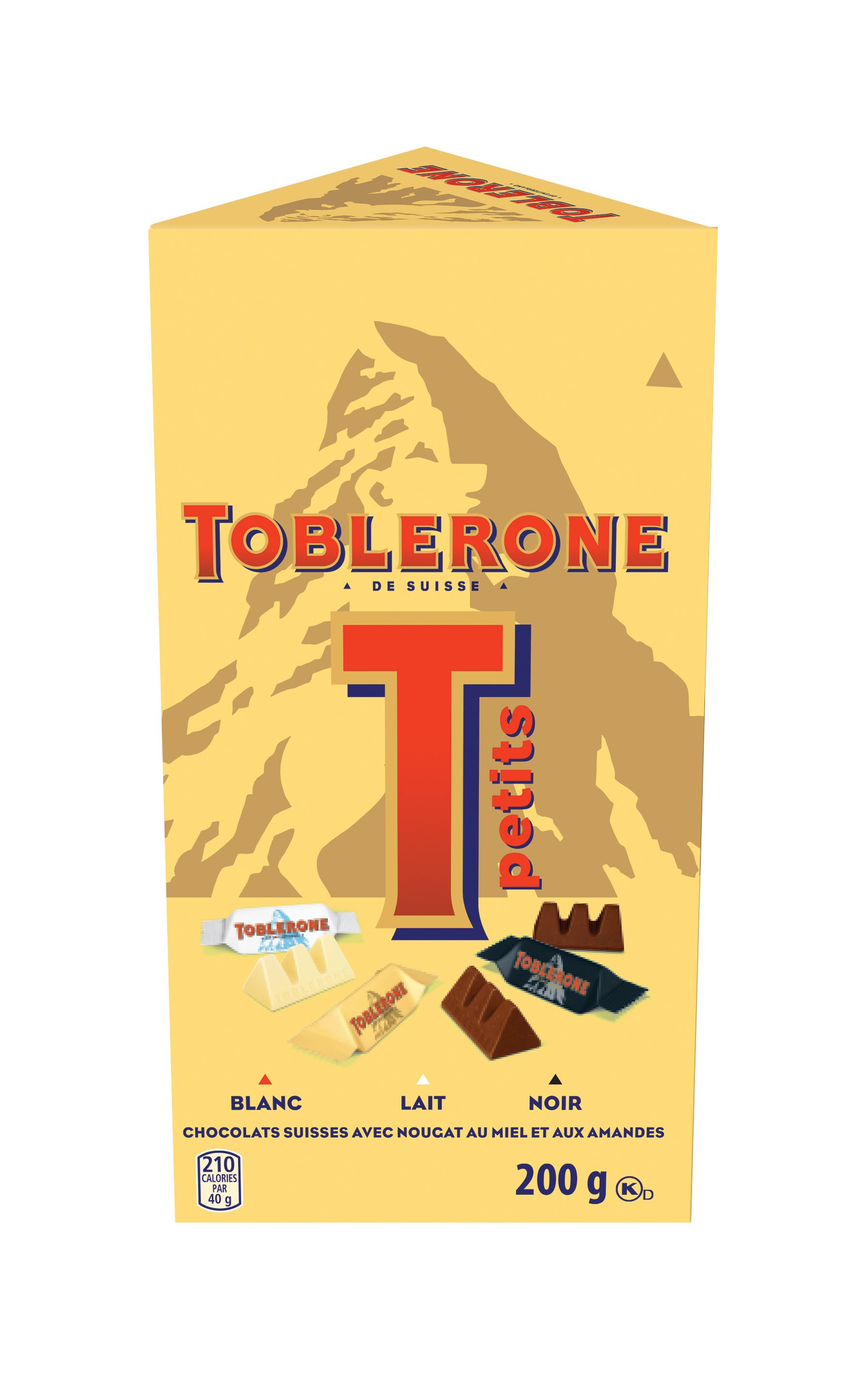 Toblerone Variety Chocolate Bar-Minis 200 G