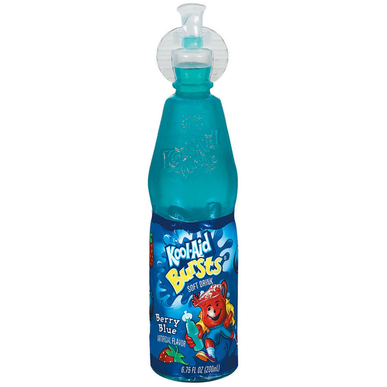 Kool-Aid Bursts Berry Blue Soft Drink - 6.75 fl oz Bottle image