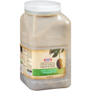 KRAFT Lime Salad Dressing, 1 gal. Jugs (Pack of 2) image