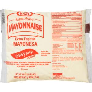 KRAFT Extra Heavy Mayo, 32 oz. Pouches (Pack of 16) image