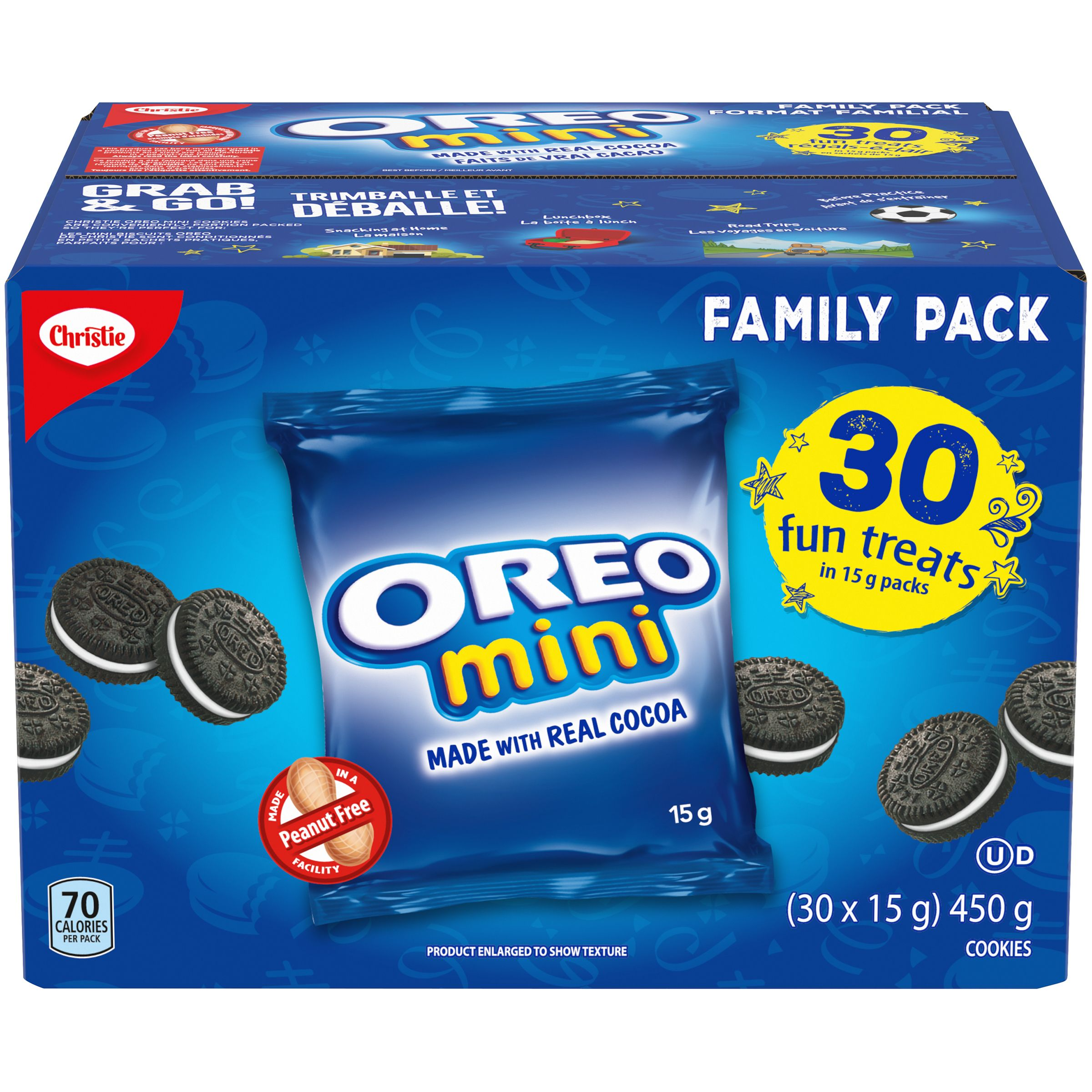 Oreo Mini Oreo Fun Treats Cookies 450 G