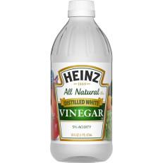 Heinz Distilled White Vinegar, 12 - 16 fl oz Bottles image