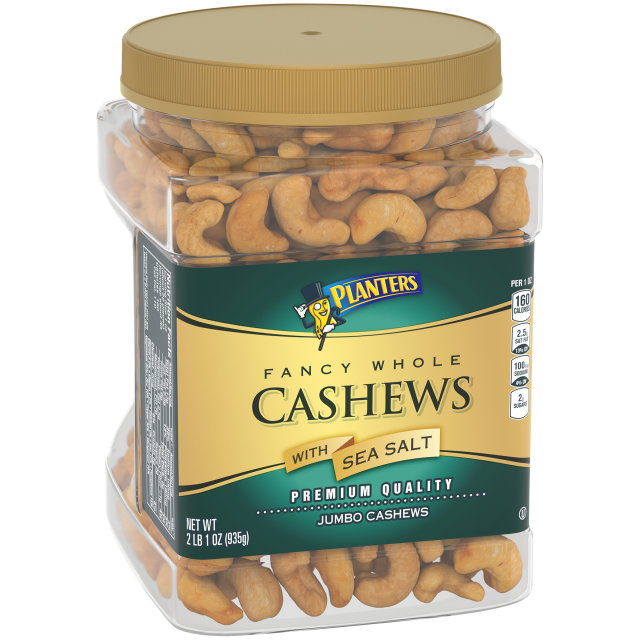 PLANTERS Fancy Cashews 33 oz Jar