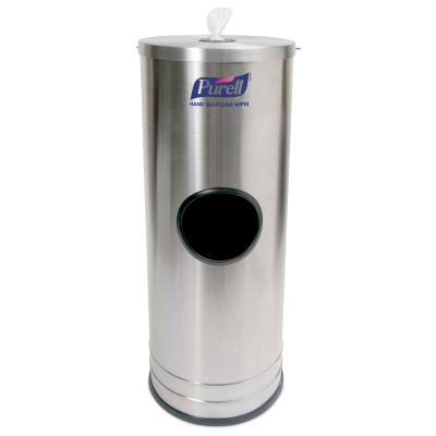 PURELL® Hand Sanitizing Wipes Stainless Steel Stand Dispenser