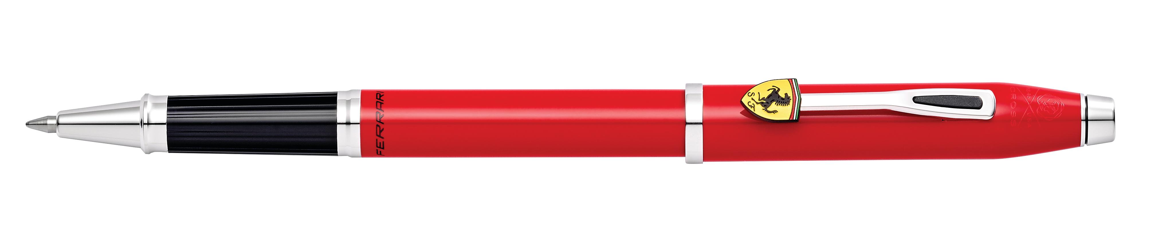 Cross Century II Collection for Scuderia Ferrari Glossy Rosso Corsa Red Lacquer Rollerball Pen
