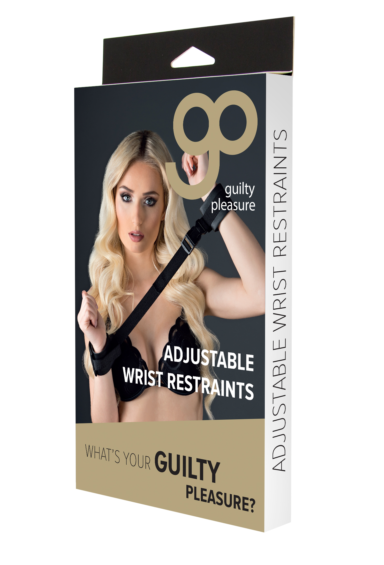 Guilty Pleasure - Adjustable Wrist Restraints - Black