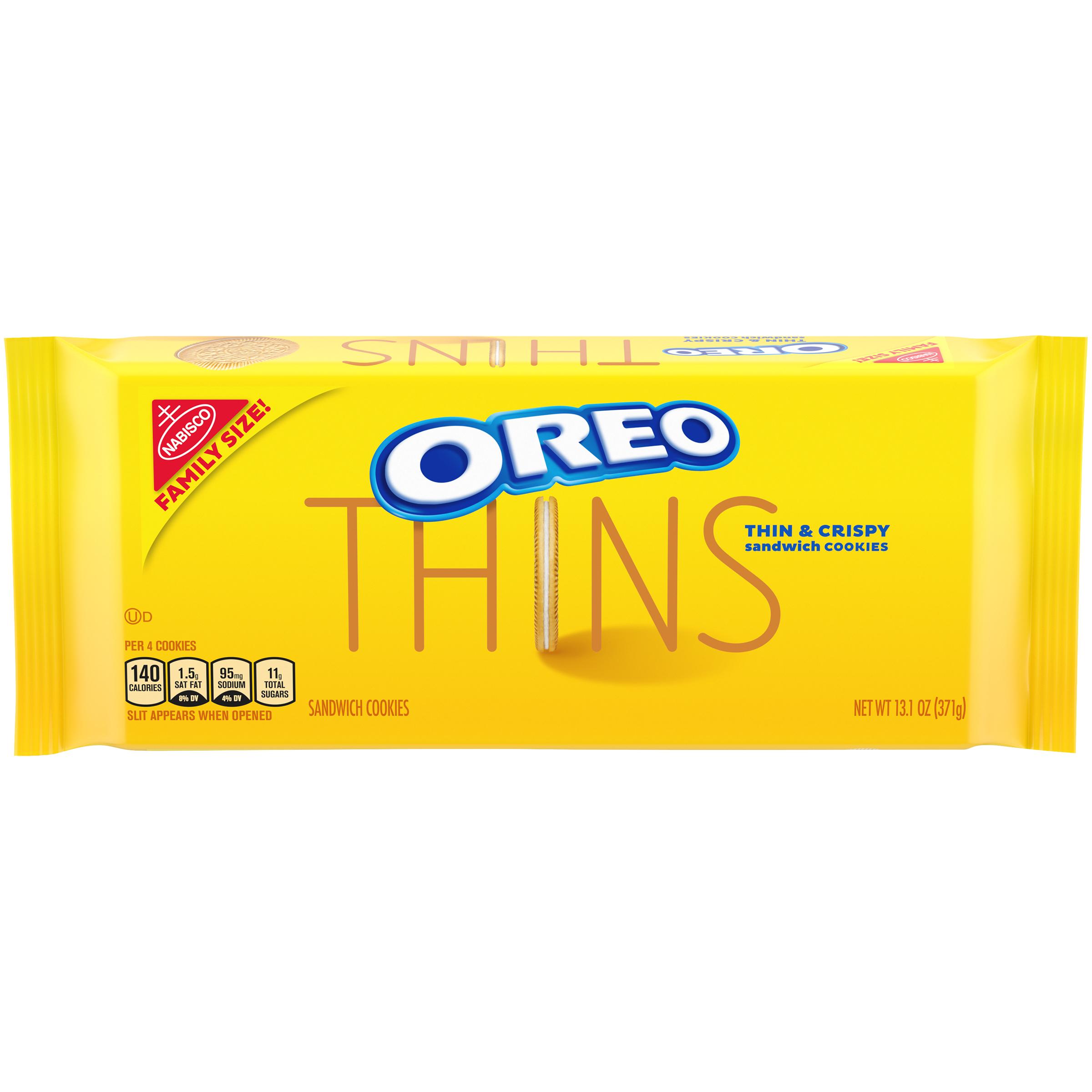 OREO Thins Golden Oreo Cookies 13.1 oz