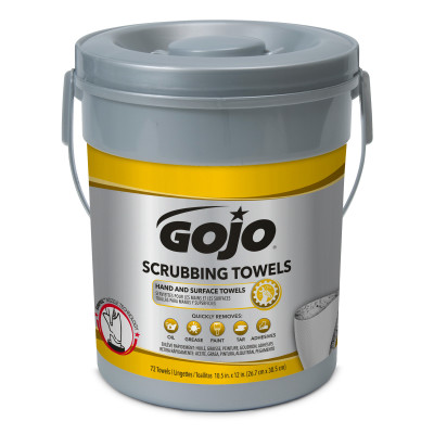 GOJO® Scrubbing Wipes