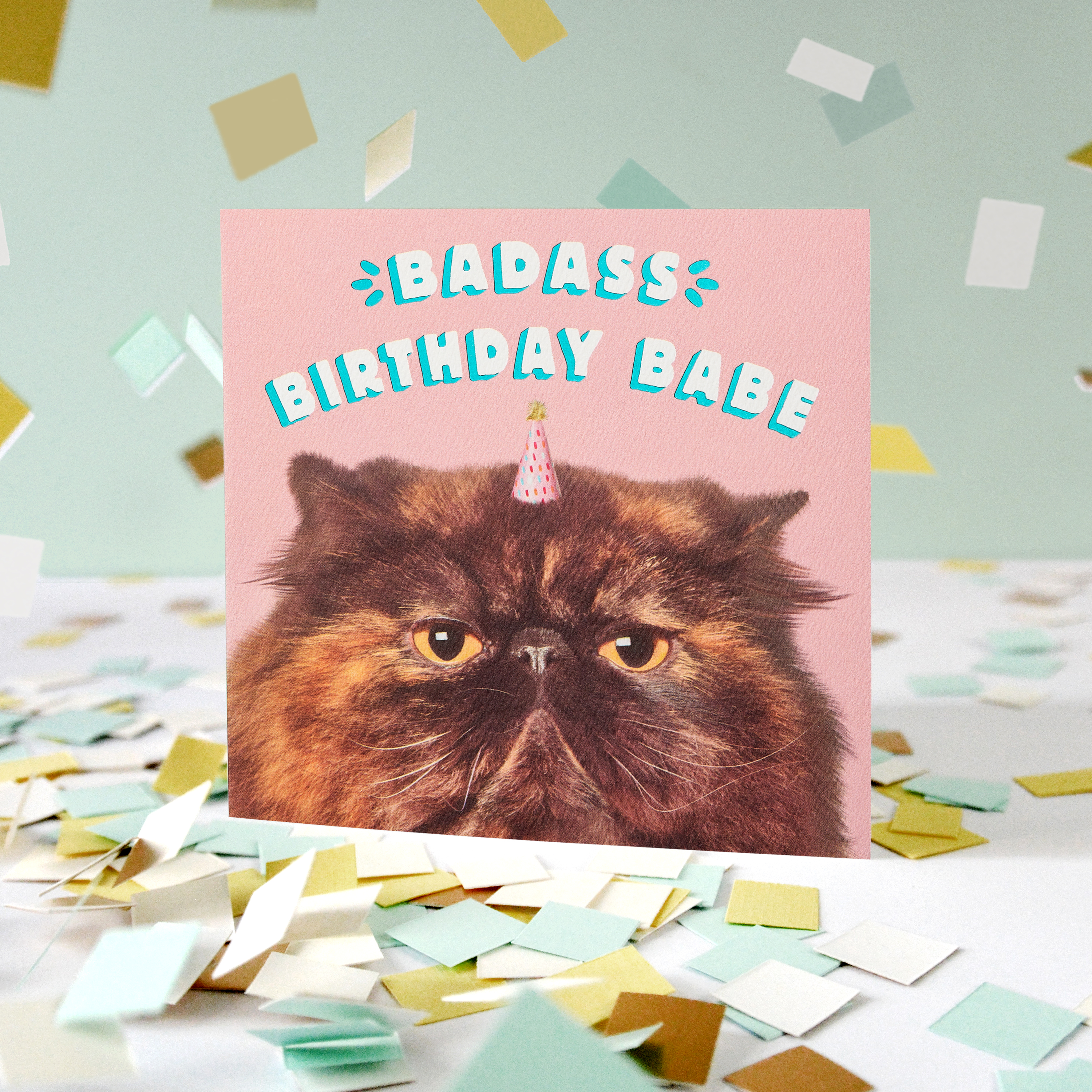 Birthday Babe Birthday Greeting Card for Her  image