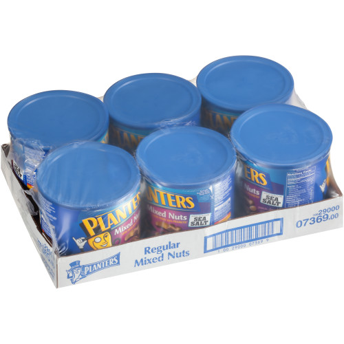 PLANTERS Mixed Nuts, 56 oz. (Pack of 6)