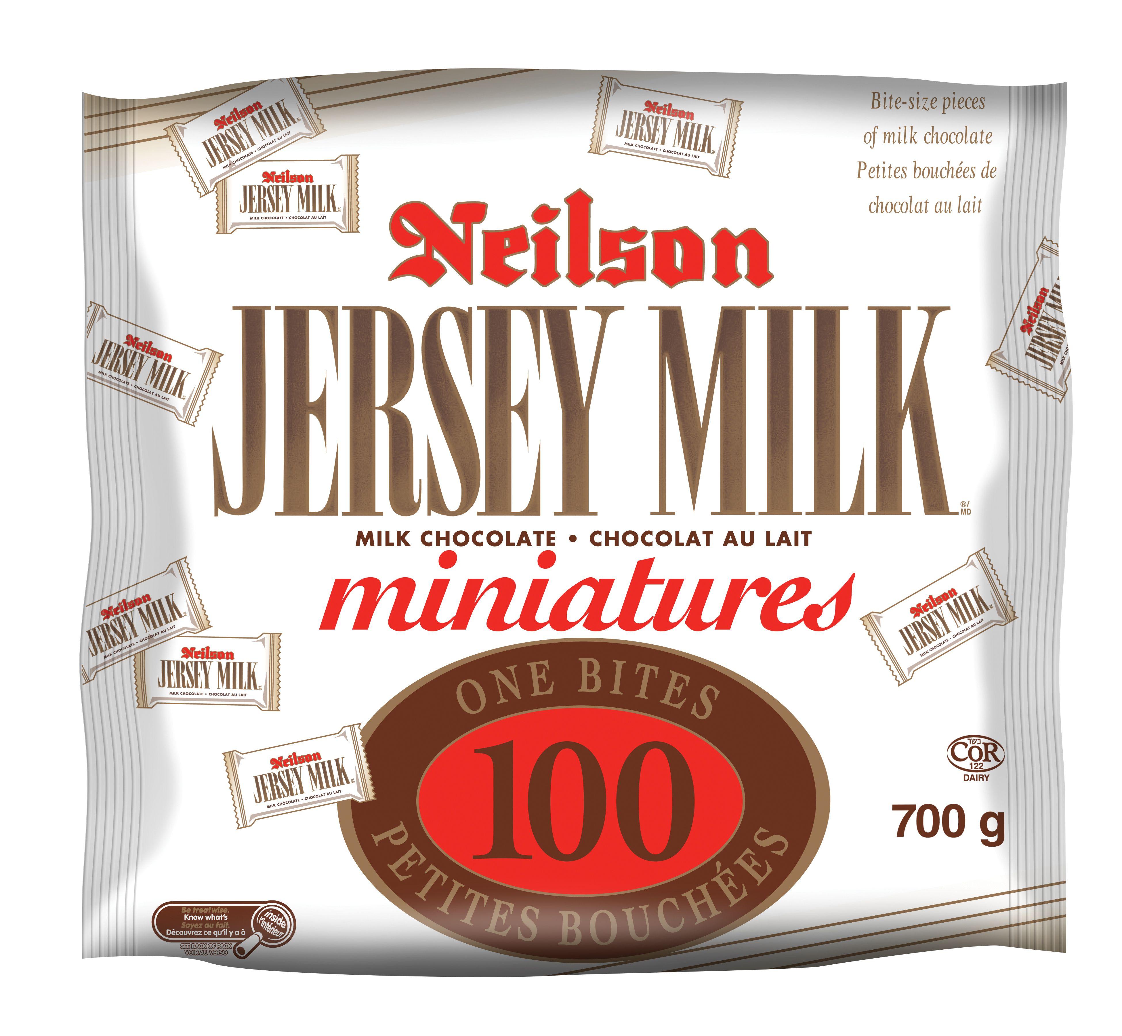 JERSEY MILK  MINIATURES 700 GRM