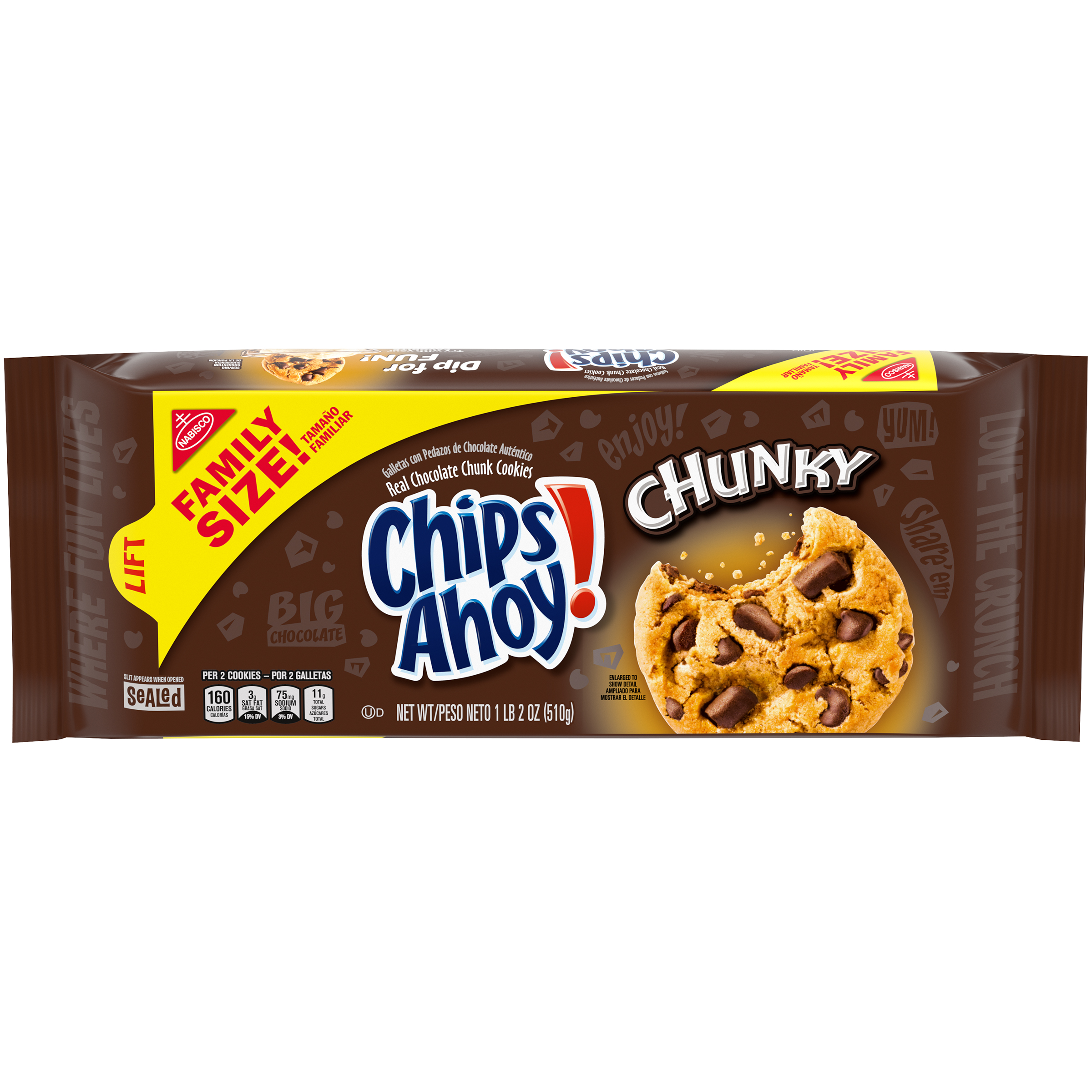 CHIPS AHOY! Chunky Chunky Cookies 18 oz