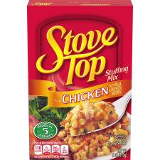 Stove Top Stuffing Mix Chicken, 6 oz Box