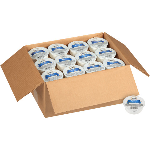HEINZ Single Serve Ranch Dressing, 2 oz. Cups (Pack of 60)