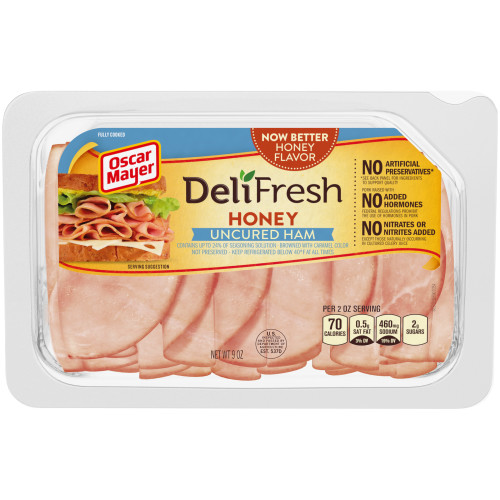 Oscar Mayer Deli Fresh Honey Ham Tray, 9 oz