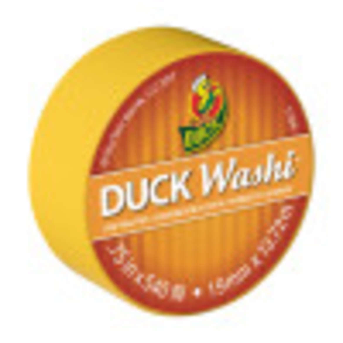 Duck Washi® Crafting Tape - Yellow, 0.75 in. X 15 yd. Image