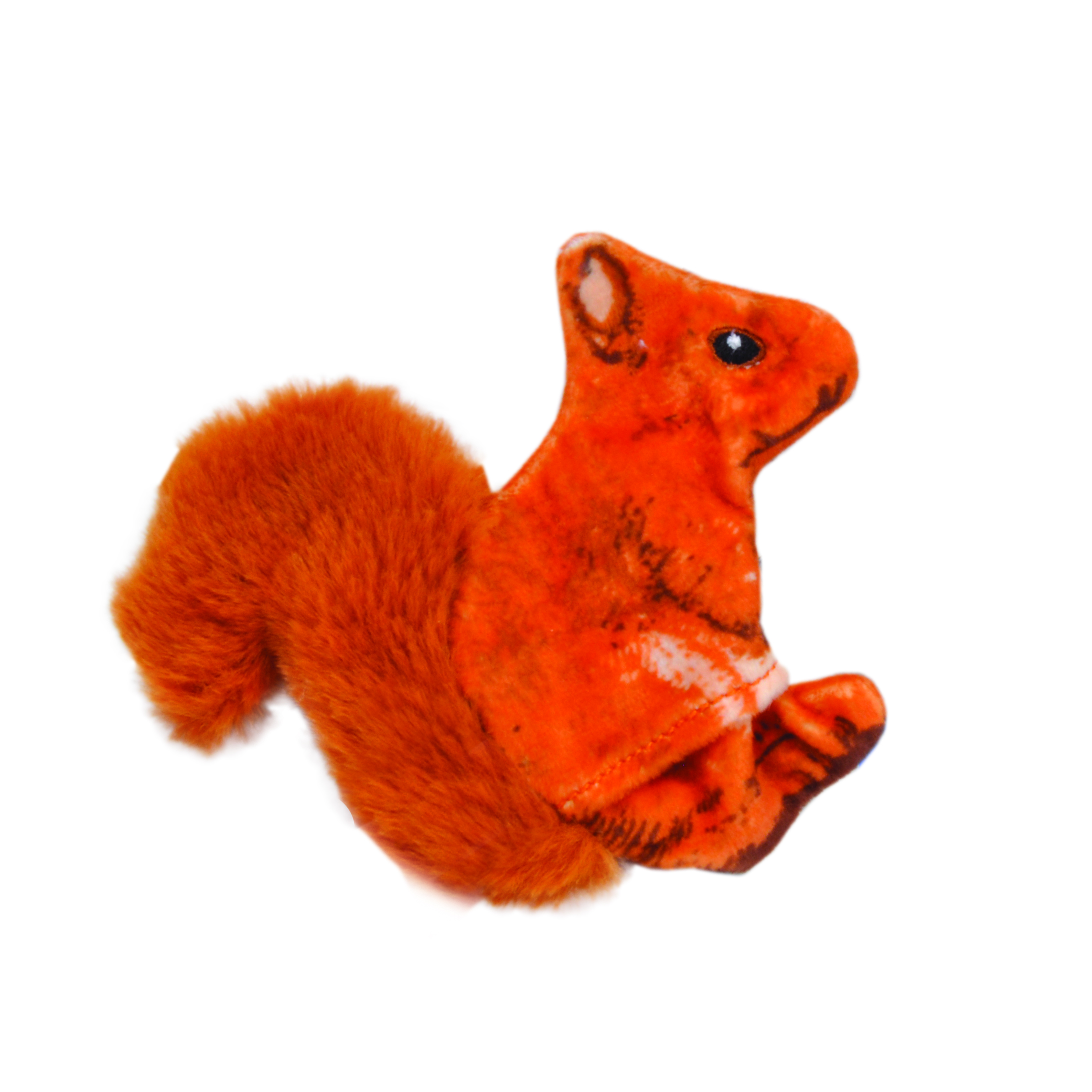 Turbo® Life-like Orange Squirrel Cat Toy