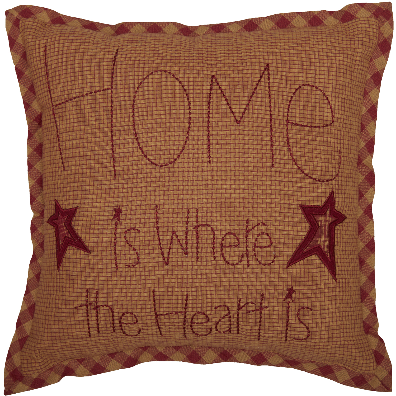 Ninepatch Star Home Pillow 12x12
