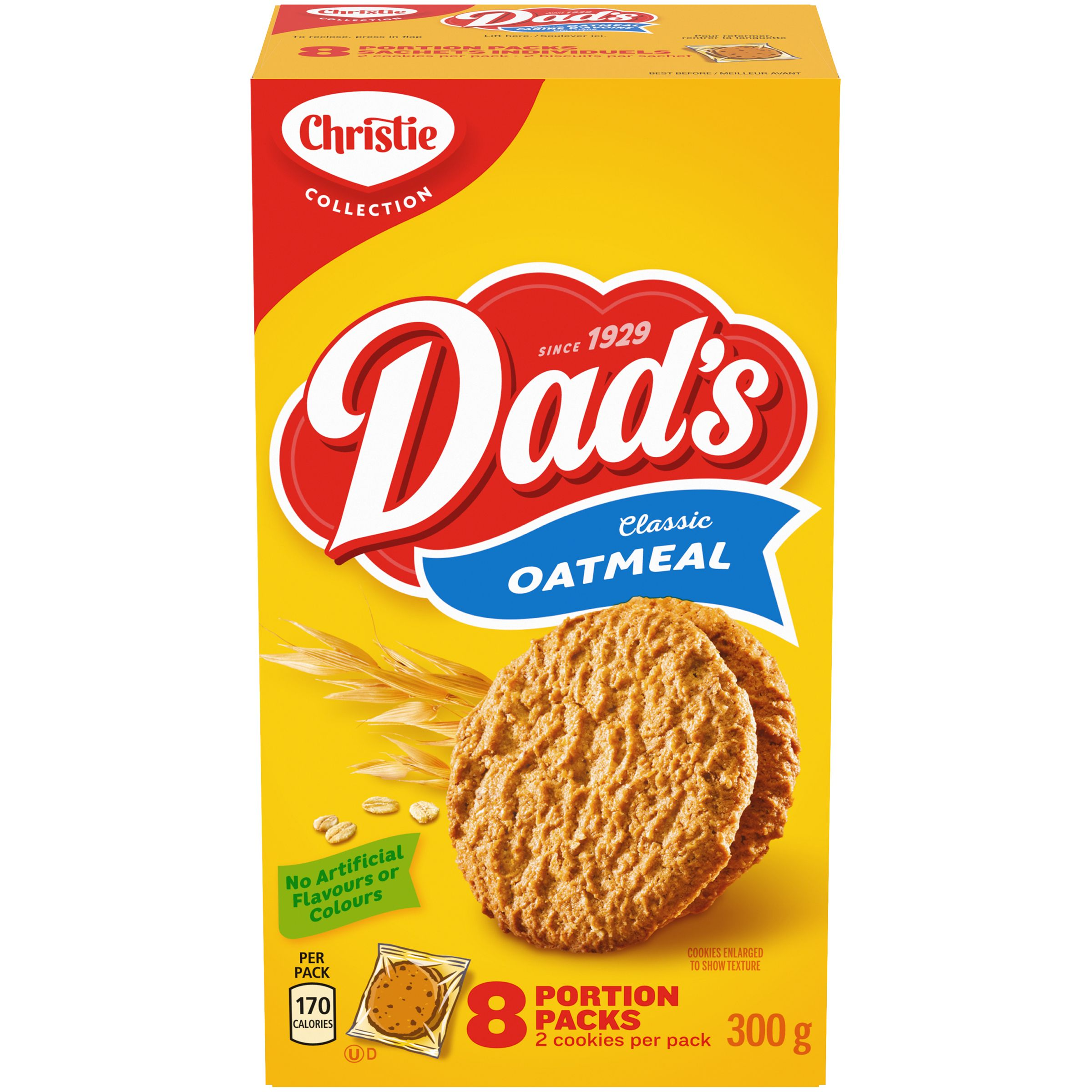 DADS  OATMEAL ORIGINAL 300 GRM