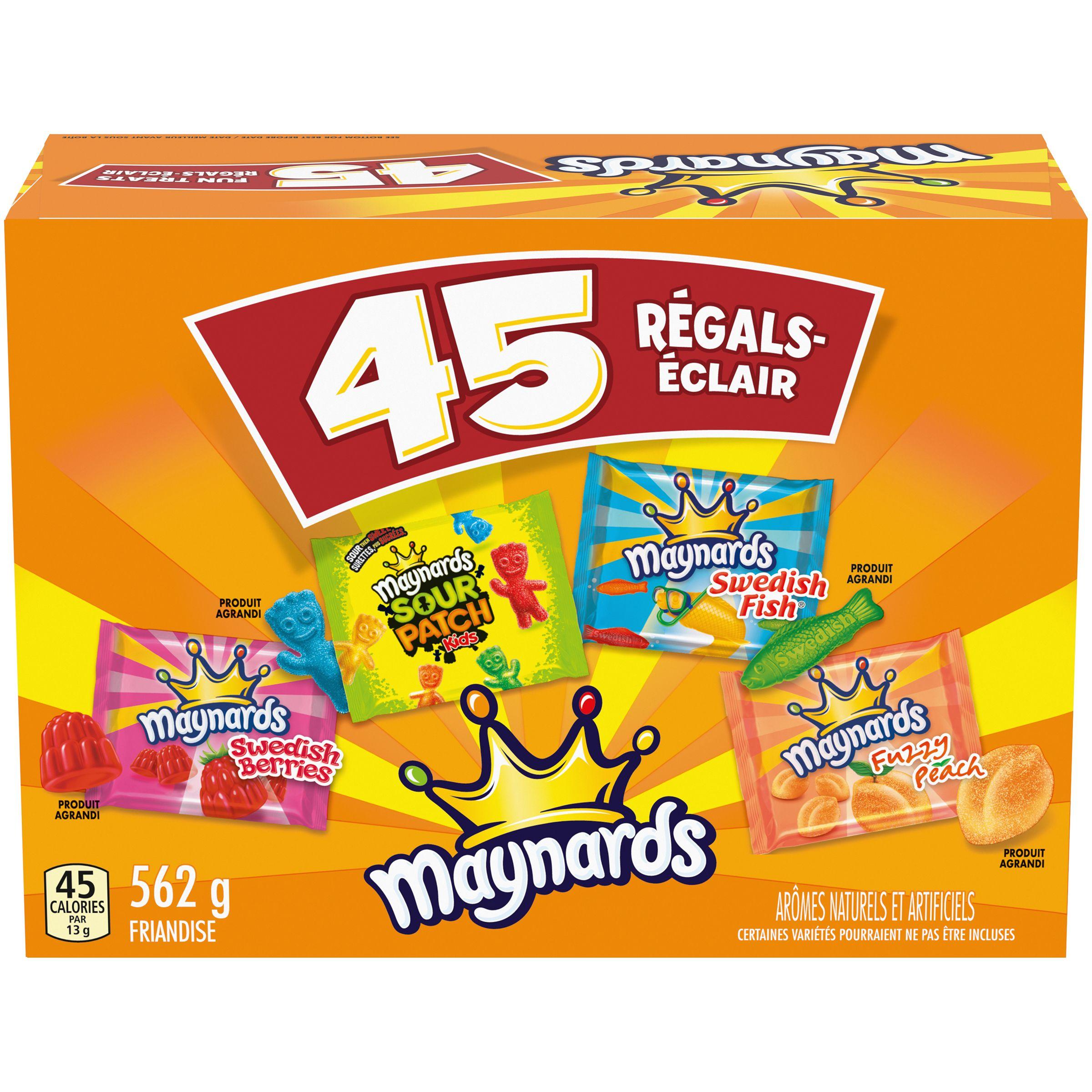 Maynards Marques Croisées Régals-Éclair Friandise Molle G