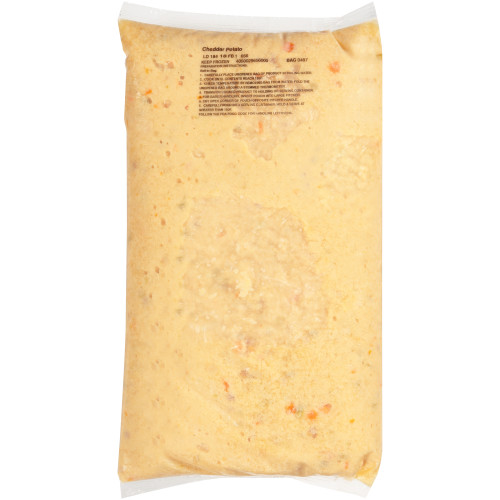 HEINZ CHEF FRANCISCO Cheddar Baked Potato Soup, 8 lb. Bag (Pack of 4)