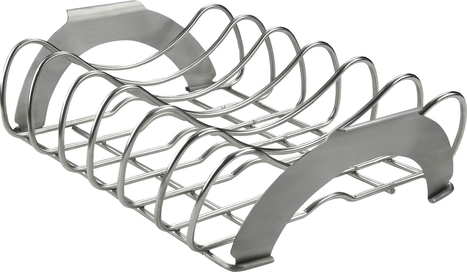 PRO Stainless Steel Rib Rack