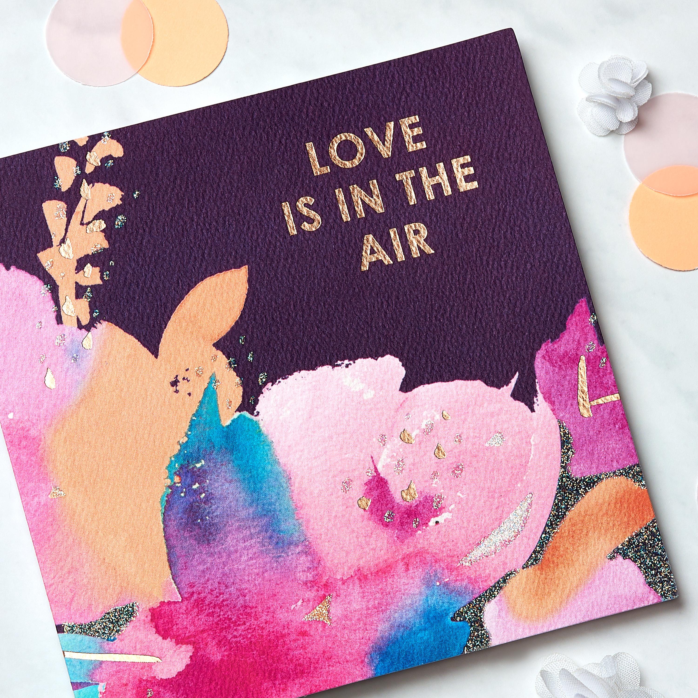 Floral Greeting Card - Engagement, Wedding, Bridal Shower image