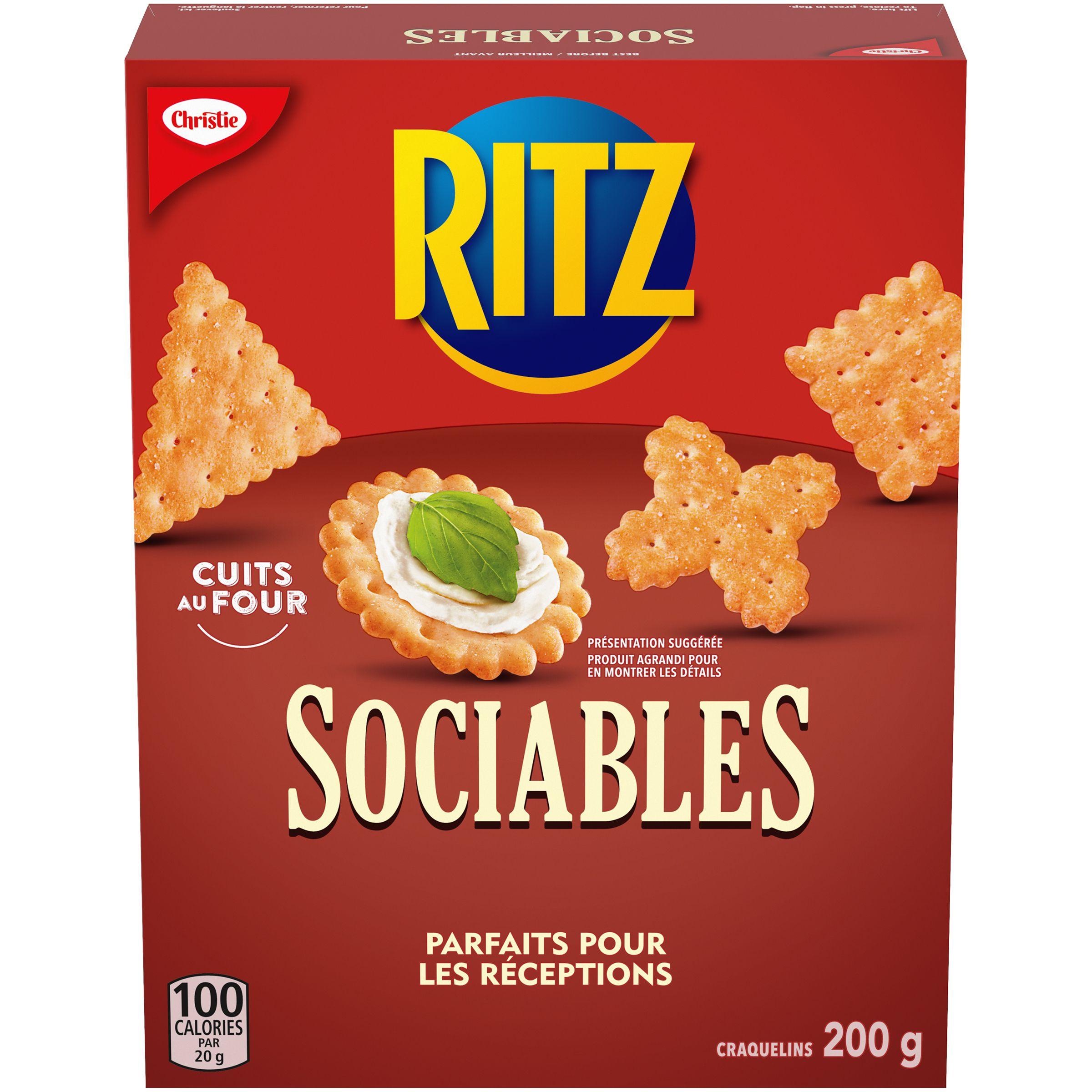 Ritz Sociables Craquelins 200 G