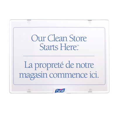 Wipes Station Sign - Our Clean Store