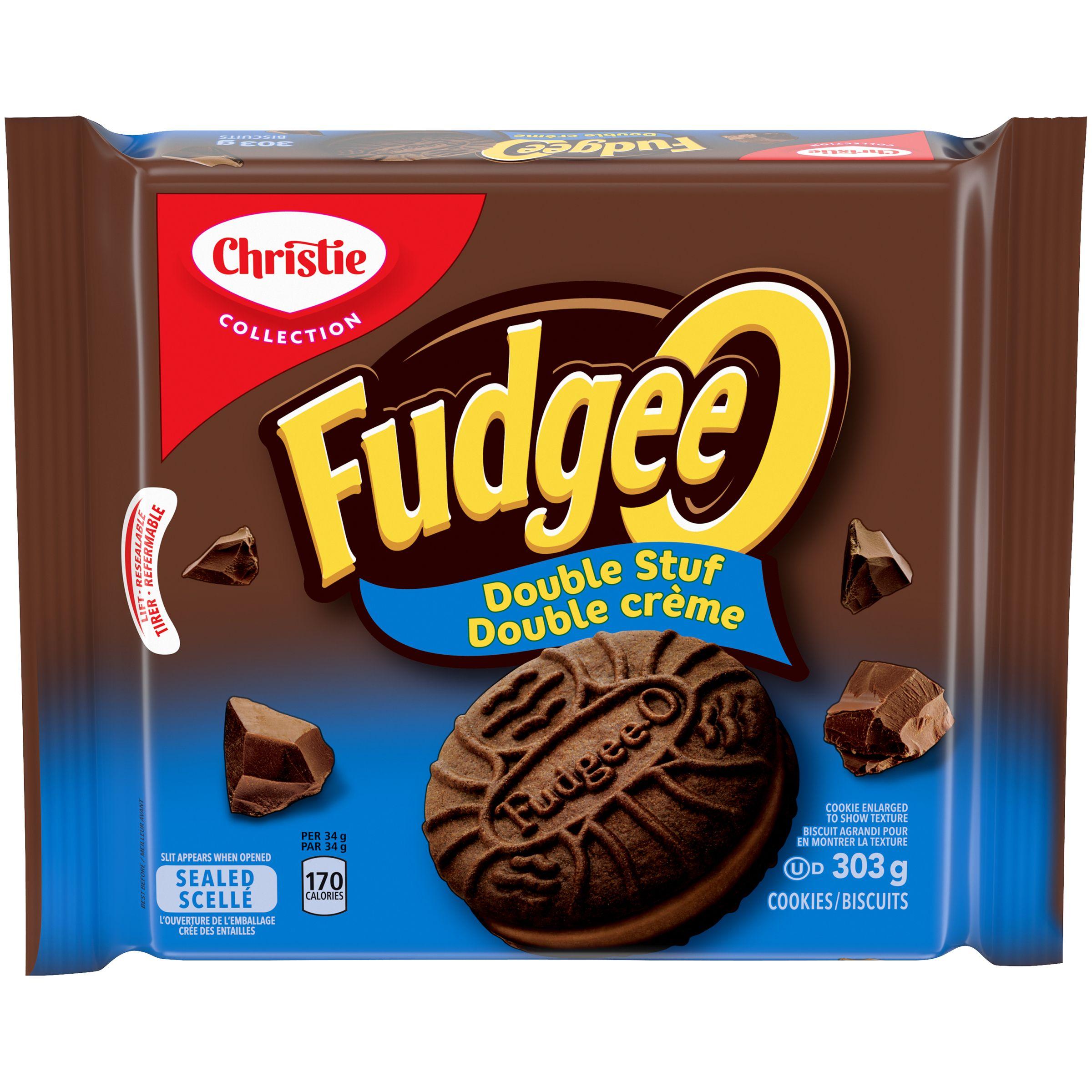 FUDGEE-O  DOUBLE STUF 303 GRM