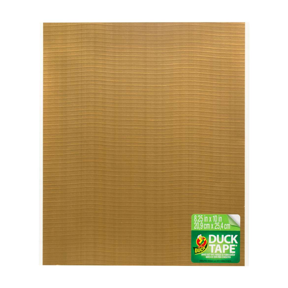 Color Duck Tape® Sheets - Gold, 6 pk, 8.25 in. x 10 in. Image
