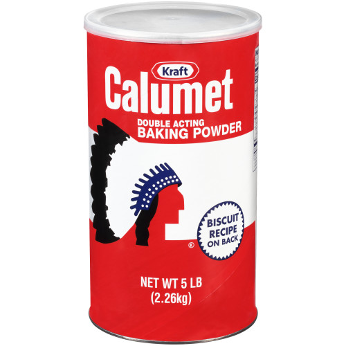 Calumet Double Action Baking Powder, 6 ct Casepack, 5 lb Canisters