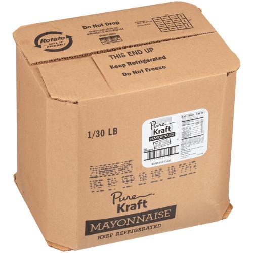 KRAFT Pure Mayonnaise, 30 lb. Pail (Pack of 1)