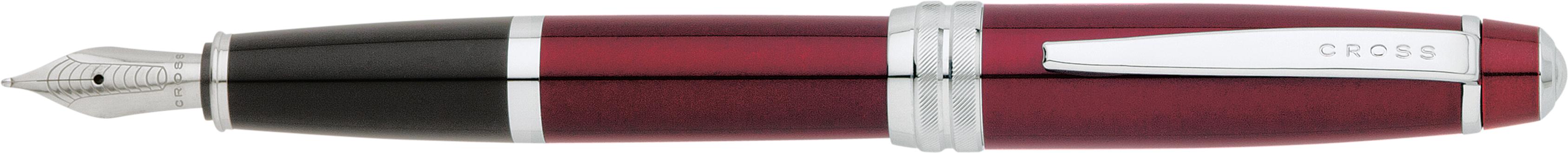 Bailey Red Lacquer Fountain Pen