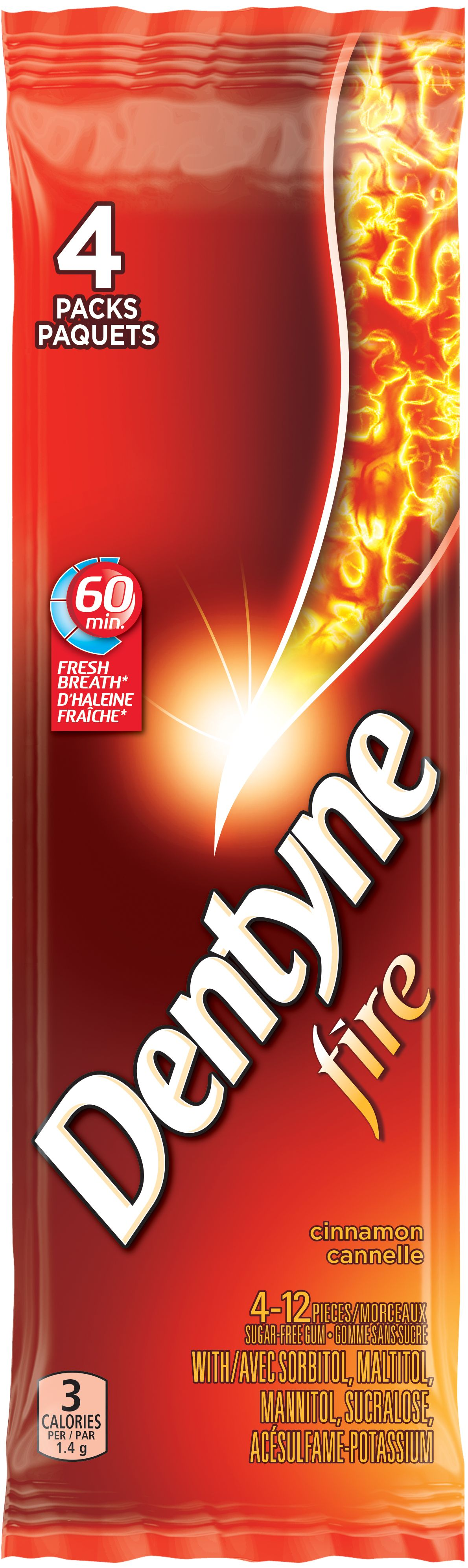 DENTYNE Fire CINNAMON 48 1N