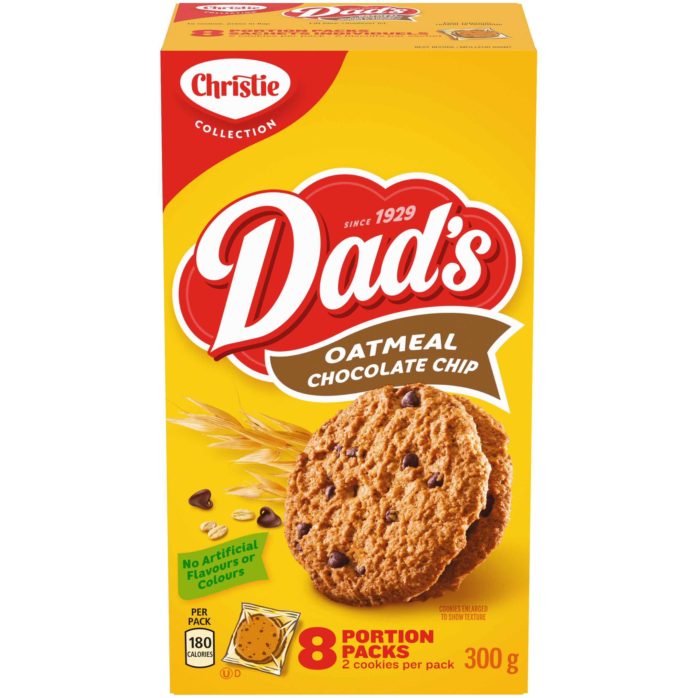 DADS  OATMEAL CHOCOLATE CHIP 300 GRM