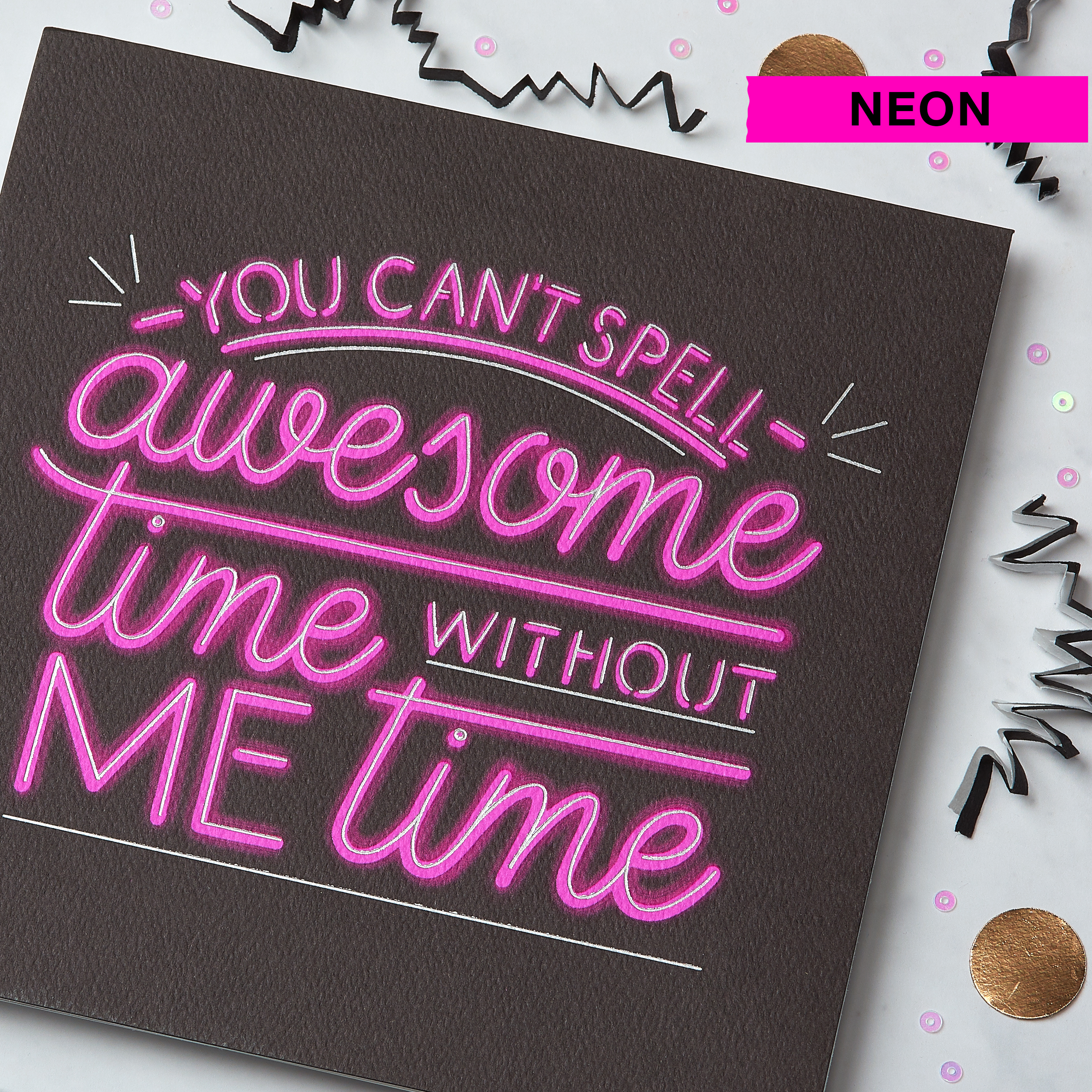 Awesome Time Birthday Greeting Card image
