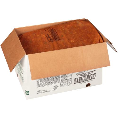 HEINZ CHEF FRANCISCO Cajun Chicken & Sausage Gumbo Soup, 8 lb. Bag (Pack of 4)