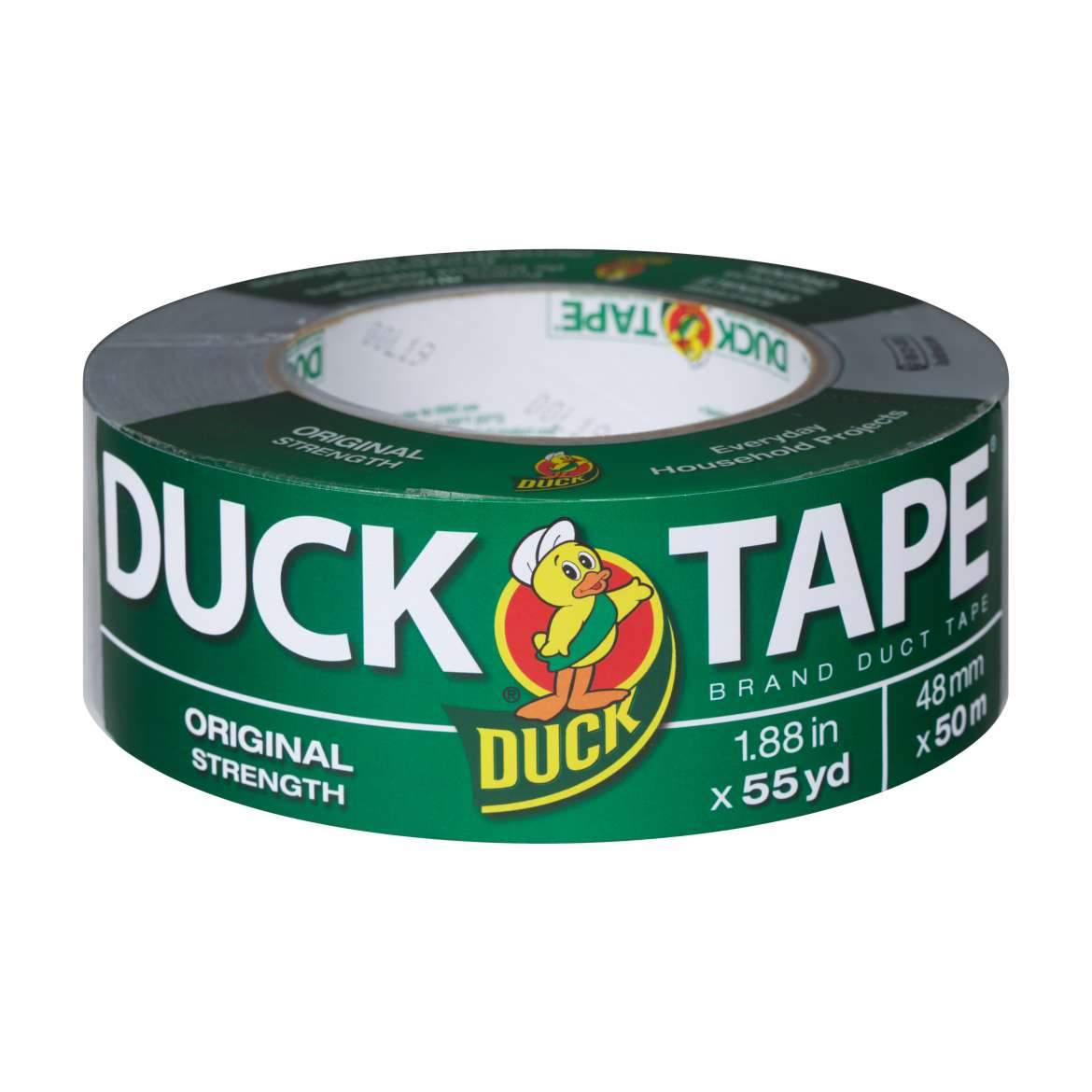 Original Strength Duck Tape® Brand Duct Tape - Silver, 1.88 in. x 55 yd. Image