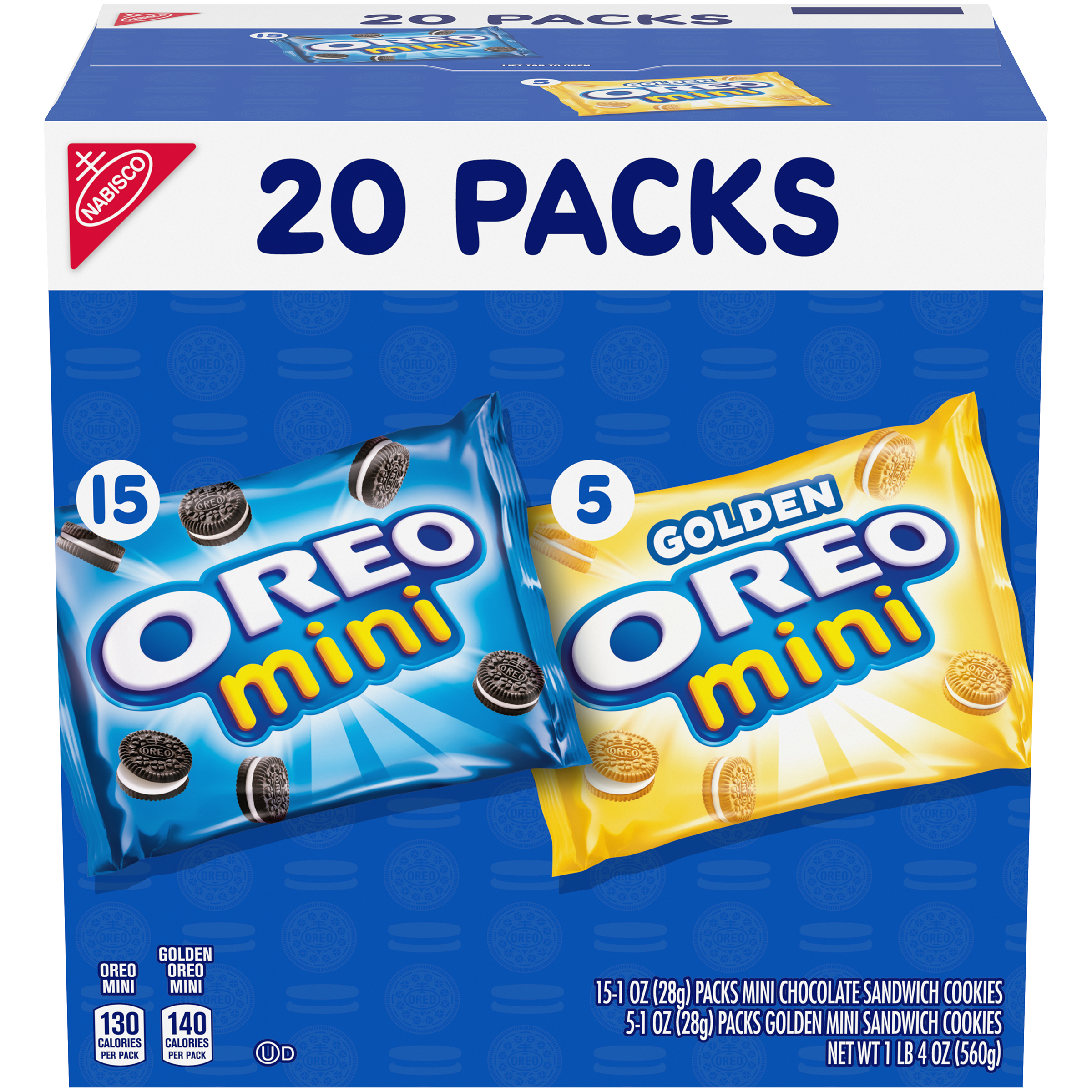 OREO Mini Variety Pack Cookies - Mini 20 oz