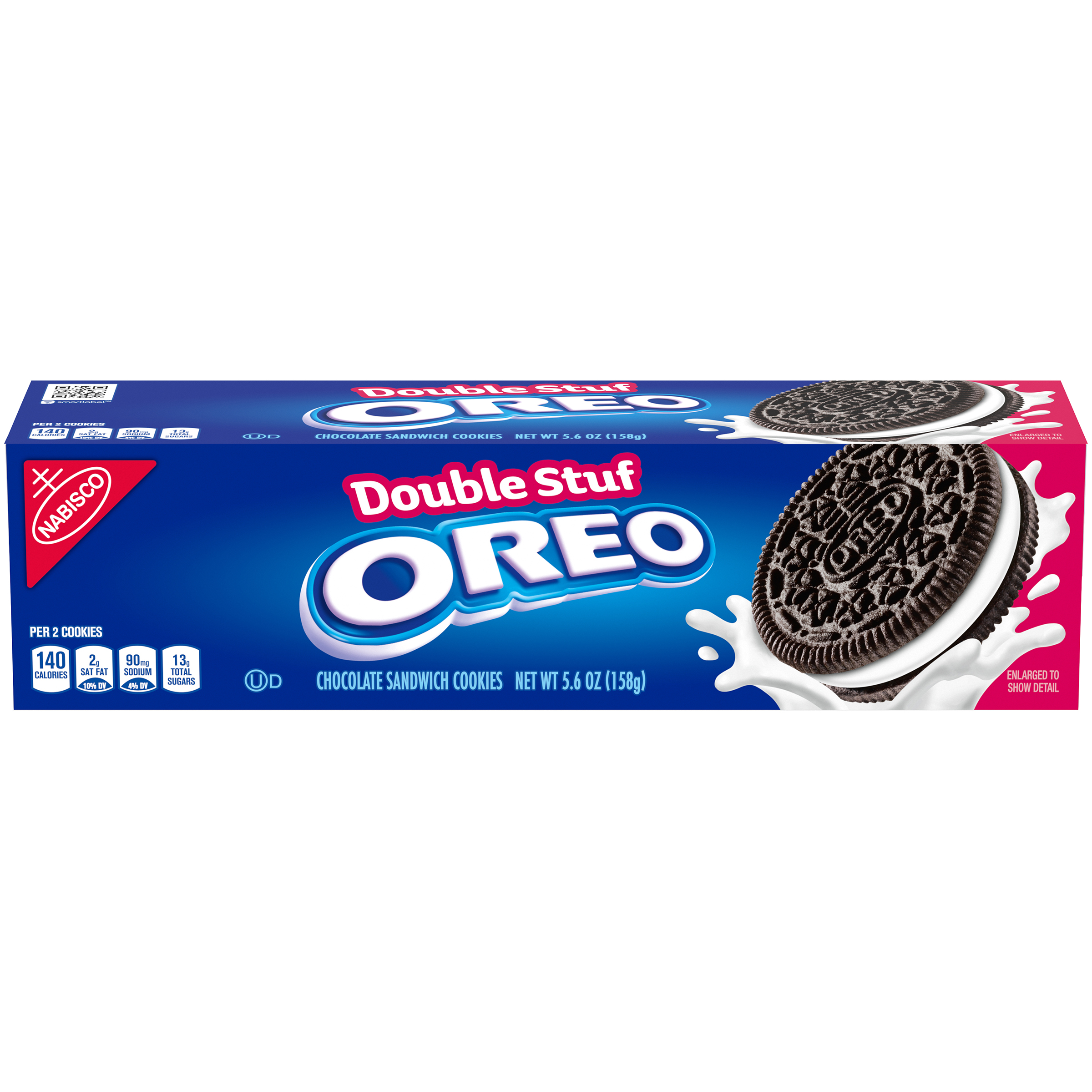 OREO Double Stuf Chocolate Cookies-Convenience Pack 5.6 oz