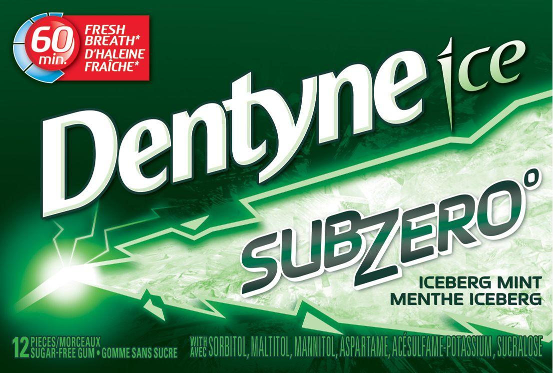 Dentyne Ice Iceberg Mint Gum 12 Count
