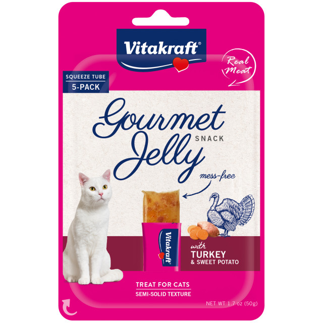 Product-Image showing Gourmet Jelly, Turkey and Sweet Potato, 5 Pack
