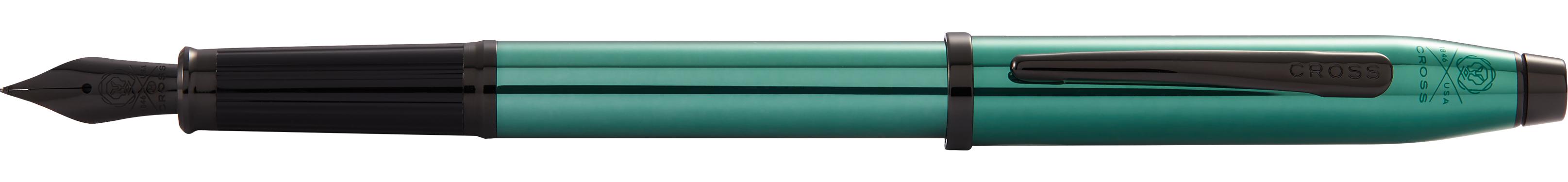 Century II Translucent Green Lacquer Fountain Pen